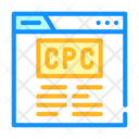 Cpc Seo Optimization Icon