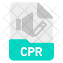 Cpr File Document Icon