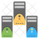 Data Server Racks Icon