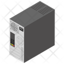 Cpu Central Processing Unit Computer Brain Icon