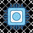 Cpu Artificial Chip Icon