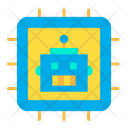 Cpu Robotics Chip Icon