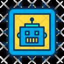 Cpu Robotics Chip Icon