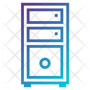 Desktop Desktop Pc Computer Tower Icon