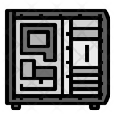 Computer Case Technology Icon