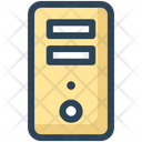 Cpu Hardware Tower Icon
