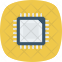 Cpu Hardware Microprocessor Icon