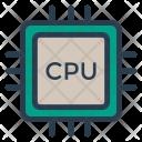 Cpu Processing Unit Icon