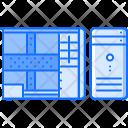 Cpu Case Data Icon