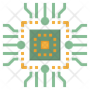 Cpu Chips Digital Icon