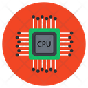 Cpu Chip Microprocessor Processor Chip Icon