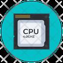 Cpu Chip Microprocessor Processor Chip Icon