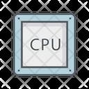 Cpu Chip Cpu Processor Chip Icon