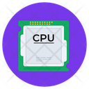 Cpu Microprocessor Processor Chip Integrated Circuit Icon