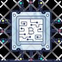 Processor Cryptocurrency Cpu Mining Gpu Mining Icon