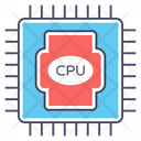 Cpu Processor Central Processing Unit Computer Chip Icon