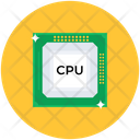 Cpu Processor Microprocessor Processor Chip Icon