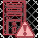 Cpu Warning Cpu Error Error Icon