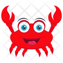 Crab Insect Edible Icon
