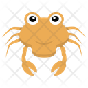 Crab Seafood Sea Life Icon