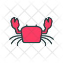 Crab Animal Sea Creature Icon
