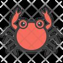 Crab Crab Face Emoji Icon