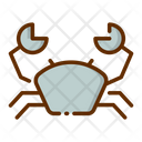 Crab Sea Food Sea Icon