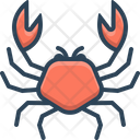 Crab Animals Sea Icon