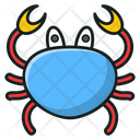 Crab Seafood Lobster Icon