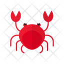 Crab Seafood Sea Icon