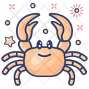 Crab Seafood Sea Creature Icon