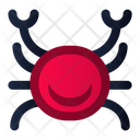 Crab Seafood Beach Icon
