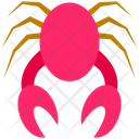 Summer Crab Sea Icon