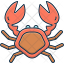 Crab Lobster Pagurian Icon