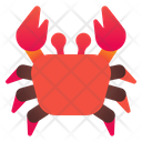 Crab Sea Beach Icon