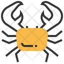 Crab Seafood Food Icon