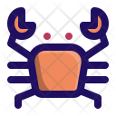 Crab Sea Food Icon