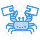 Crab Bag Plastic Icon