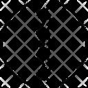 Crack Rift Leak Icon