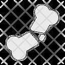 Bone Crack Broken Icon