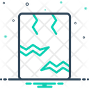 Crack Earthquake Rift Icon