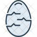 Egg Testicle Oval Icon