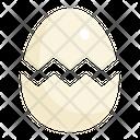 Egg Eggs Cracked Icon