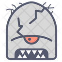 Cracked Creature Horns Icon