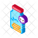 Cracked Bottle Pills Icon