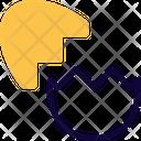 Cracked Egg Icon