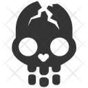 Cracked Skull Cracked Skull Dead Icon