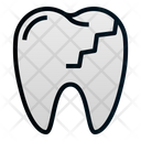 Cracked teeth Icon