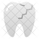 Cracked teeth Icon