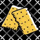 Snacks Crackers Refreshments Icon